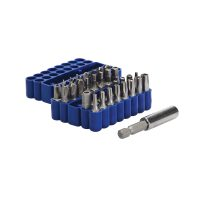 Silverline 33-delige Veiligheid Bit Set - 25 Mm